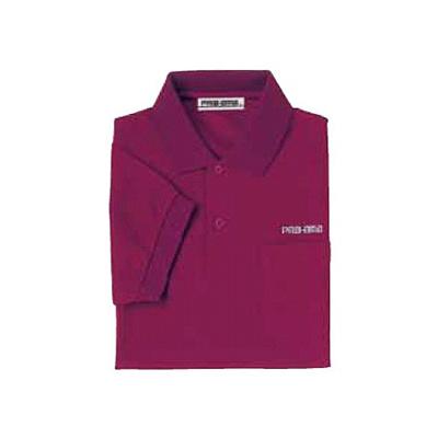 ABS(アメリカン ボウリング サービス) ポロシャツ P-603 ボルドー 【Pro-ama ボウリングウェア メンズ レディース ボーリング】の画像