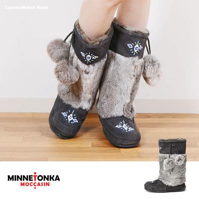 ミネトンカ Minnetonka ミネトンカ ブーツ タコマ マクラク ムックルック Minnetonka 同梱不可の画像