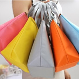 [FREESHIPPING]New candy colored brown bag bag bag bag bag breast preservation insulation heat preservation