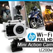 [HP] FULL HD Wi-Fi Mini Action Cam / 3280 x 2464 / Wide Angel 120 / Aperture F2.4  / Sony 8MP CMOS Sensor / 1 Year Warranty