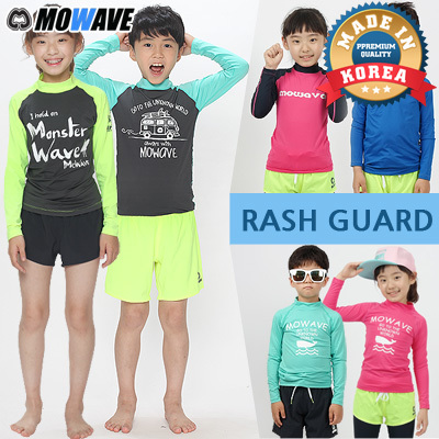 1Day BIG SALE? [MOWAVE]Kids Rash Guards?MADE IN KOREA?HIGH QUALITY?kids swimwear Deals for only S$48.9 instead of S$0