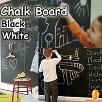 SALE - France Design Creative Chalkboard Stickers-Blackboard n Whiteboard-GDB-DIY Wall Decal Stickers 45x200Cm/ Final Stock SALE