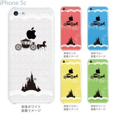 【iPhone5c】【iPhone5cケース】【iPhone5cカバー】【iPhone カバー】【クリア ケース】【スマホケース】【クリアケース】【イラスト】【クリアーアーツ】【シンデレラ】 08-ip5c-ca0093aの画像