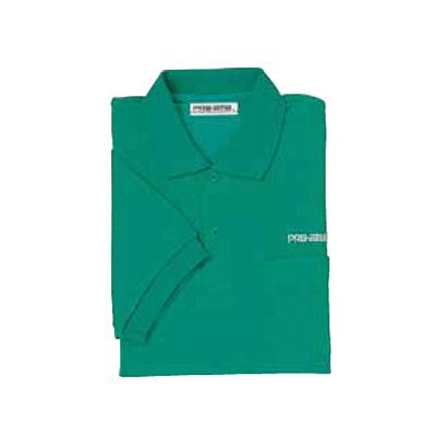 ABS(アメリカン ボウリング サービス) ポロシャツ P-604 グリーン 【Pro-ama ボウリングウェア メンズ レディース ボーリング】の画像
