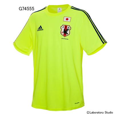 アディダス (adidas) 日本代表 アウェイレプリカTシャツ(2014-) AD672 [分類:サッカー プラクティスシャツ]の画像