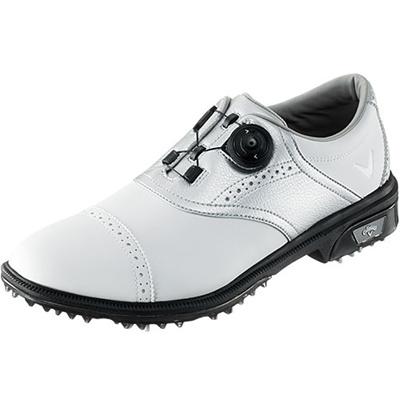 キャロウェイ(Callaway) ツアースタイル サドル LS 15 JM ゴルフ スパイク WHT/SLV 【メンズ 靴 シューズ】の画像