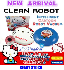 Japanese Sanrio Disney Sweeper Robot Cleaner + FREE 20pcs Dust Cleaner Paper♥