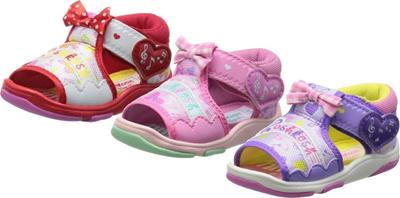 (A倉庫)【OSH KOSH】 オシュコシュ OSK B94 ベビーサンダル 女の子 キッズ 子供サンダル ベビーの画像