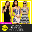 Special Offer!All Flat Price UK Fashion Plus Size Dresses Tops Blouses Skirts