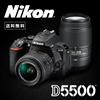 ★数量限定★Nikon デジタル一眼レフカメラ D5500 ダブルズームキット  [ブラック]  タッチパネル式モニター搭載の一眼レフカメラ