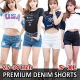 [DENIM SHORTS] 2015 Korean Denim Pants longshorts   Pantsshorts Collection  [UP TO 65% OFF - women fashion women clothing Korean Formal Collection] 2015 Customer Satisfaction Best Item