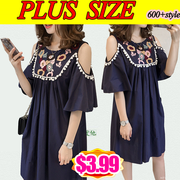 ?Update 9? PLUS SIZE Summer/pants/Suit/shirt/Tops/Large size dress/Europe/Korean clothing Deals for only S$19 instead of S$0