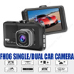 [SG Stock] FH06 SINGLE/DUAL CAR CAM HD Edition * NIGHT VISION * 12V to 24V Car Adapter * CAR ACCIDENT MONITOR * G-SENSOR * MOTION DETECT * RECORDING *. Local Stocks n Warranty!