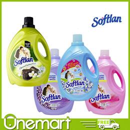 [SOFTLAN] 5L Fabric Conditioner Floral Fantasy/Spring Fresh/Lavender Fresh/Charcoal Cardboard Fresh
