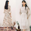 [Rocosix] ★7style★ Summer Dress Collection / Maxi / Lace / Off shoulder / Flower Dress / Korean Fashion