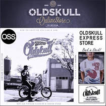 OLDSKULL Express . SUPER SOFT and COMFY TEES . オールドスカル. NEW ARRIVAL