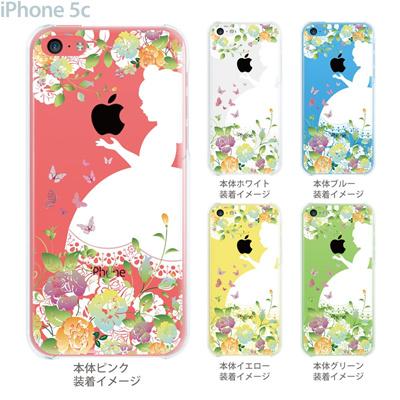 【iPhone5c】【iPhone5c ケース】【iPhone5c カバー】【ディズニー】【iPhone ケース】【クリア カバー】【スマホケース】【クリアケース】【イラスト】【クリアーアーツ】【白雪姫】 08-ip5c-ca0100bの画像