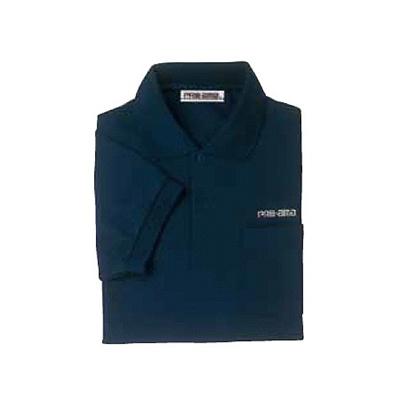 ABS(アメリカン ボウリング サービス) ポロシャツ P-606 ネイビー 【Pro-ama ボウリングウェア メンズ レディース ボーリング】の画像