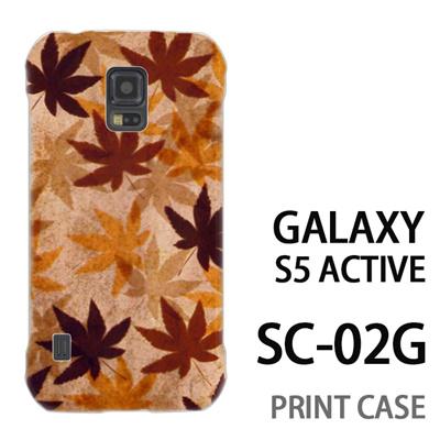 GALAXY S5 Active SC-02G 用『No3 カエデ』特殊印刷ケース【 galaxy s5 active SC-02G sc02g SC02G galaxys5 ギャラクシー ギャラクシーs5 アクティブ docomo ケース プリント カバー スマホケース スマホカバー】の画像