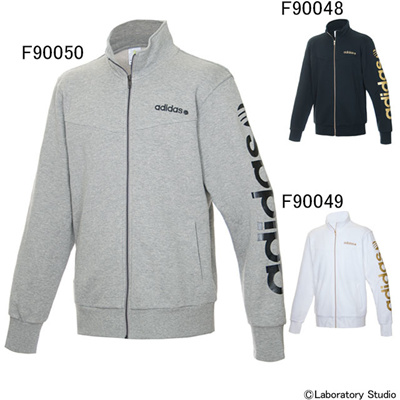 アディダス (adidas) BL スウェットジャケット M DDP14 [分類:メンズファッション スウェットジャケット] 送料無料の画像