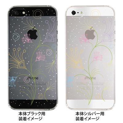 【iPhone5S】【iPhone5】【Clear Fashion】【iPhone5ケース】【カバー】【スマホケース】【クリアケース】【フラワー】 22-ip5-ca0045の画像