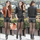 KOREA hot winter jacket/leather jacket/rider jacket/short jacket/Women Motorcycle jacket small suit coat Fashion PU Leather / Ladies Motorcycle Jackets for women PU coat New Arrival