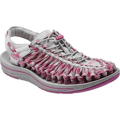 ◆即納◆キーン(KEEN) WOMEN UNEEK 8MM レディース ユニーク エイトミリメーター NEUTRAL-GRAY/DAHLIA-MAUVE 1013244 【おしゃれ サンダル シューズ 靴】【SNDL15】の画像