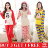 Cartoon pajamas short sleeve nightgown girl pajamas thin women sleepwear female sleepwear Pajamas