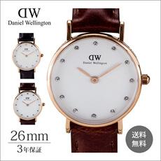 Daniel Wellington ダニエルウェリントン Women s Wrist Watch Classy St. Mawes クラシックセント・モース シェフィールド ブリスト 26mm  0900DW 時計 ファッション ウィメンズ 1年保証