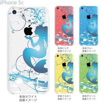【iPhone5c】【iPhone5c ケース】【iPhone5c カバー】【ディズニー】【iPhone 5c ケース】【クリア カバー】【スマホケース】【クリアケース】【イラスト】【クリアーアーツ】【人魚姫】 08-ip5c-ca0100cの画像