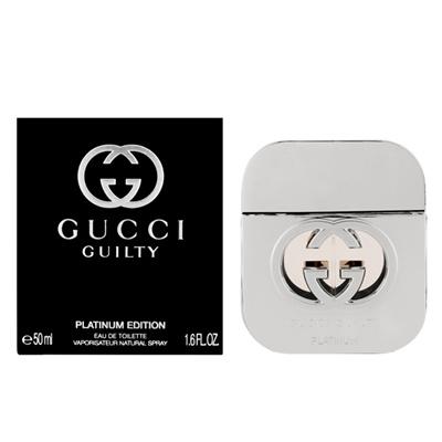 香水FRAGRANCEグッチGUCCIGUILTYPLATINUMEDITIONギルティプラチナエディションEDT・SP50ml