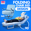【Free Shipping】Creative design!!! Folding Chair bed/ Computer chair/ Lunch break/ Nap/ Bed/ Home Office/ High-quality structure/ Great bearing capacity/ Detachable cover 【M18】