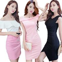 【Z】Hot body short skirt sexy party/Work dress/Wear with bare back dress /Sexy Dress