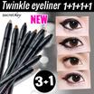 【Secret Key HQ Direct Operation】★[1+1+1+1]Twinkle Gel Pencil Liner Autotype_0.5g/ Waterproof Eye liner/Eye shadow/Long Lasting/gel eyeliner/liquid eyeliner/Eyeliner/make up/