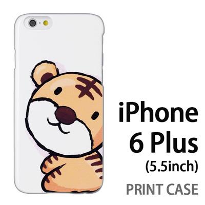 iPhone6 Plus (5.5インチ) 用『0723 干支 寅』特殊印刷ケース【 iphone6 plus iphone アイフォン アイフォン6 プラス au docomo softbank Apple ケース プリント カバー スマホケース スマホカバー 】の画像