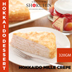 Frozen Hokkaido Mille Crepe Cake (Made In Japan)(320G)(4PCS) [Emporium Shokuhin]