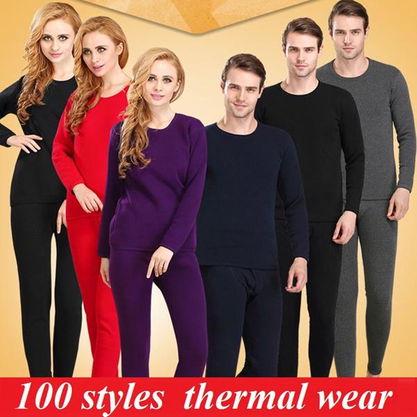Women Winter inner wear/Men Winter Inner Wear/ Thermal Underwear / leggings/Women warm clothing Deals for only S$88 instead of S$0