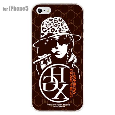 【iPhone5S】【iPhone5】【HAREM graphics】【iPhone5ケース】【カバー】【スマホケース】【クリアケース】 HGX-IP5C-005Cの画像