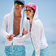 ★VENDIS★ Korea Summer ★IT ITEM★beach hood / Couple wear / Summer hood / Beach Wear / vendis / beach wear hooded cardigan/UV Protection hood