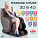 ★JIJI_SG★ ◣Futuristic Massage Chair◥ ★3D Celestial ★4D Ultimate/Eternal ★4D Divine ★Newest Rocking Full Body Massage Sofa * Massage Chair With Recliner * Relaxing and Comfortable