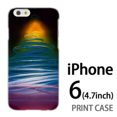 iPhone6 (4.7インチ) 用『1222 ネオンツリー 黄』特殊印刷ケース【 iphone6 iphone アイフォン アイフォン6 au docomo softbank Apple ケース プリント カバー スマホケース スマホカバー 】の画像