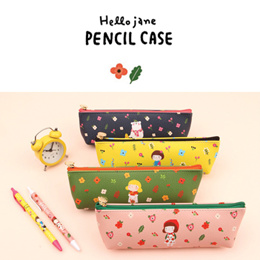 [GraceBell]★ Hello Jane Pencilcase ★ Pencilcase/ Get Peace/ Pray/ Thank/ Glad/ Cosmetic/ product/ Wallets/ cell phone/ Bag/ SBA_091