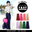 Long / Maxi Skirt comes in 14 fabulous colours