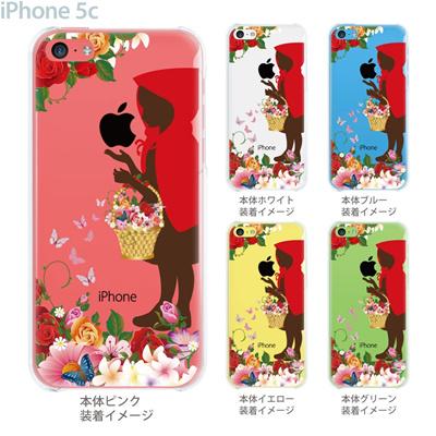 【iPhone5c】【iPhone5c ケース】【iPhone5c カバー】【ディズニー】【iPhone 5c ケース】【クリア カバー】【スマホケース】【クリアケース】【イラスト】【クリアーアーツ】【赤ずきん】 08-ip5c-ca0100fbの画像