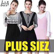 【21/9 New Arrivals】600+ style S-7XL NEW PLUS SIZE FASHION LADY DRESS OL BLOUSE PANTS  TOP