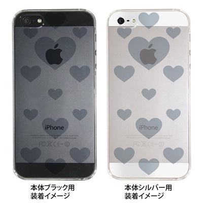 【iPhone5S】【iPhone5】【iPhone5ケース】【カバー】【スマホケース】【クリアケース】【ビッグハート】 ip5-06-ca0021lの画像