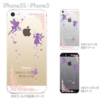 【iPhone5S】【iPhone5】【iPhone5sケース】【iPhone5ケース】【カバー】【スマホケース】【クリアケース】【クリアーアーツ】【天使】 09-ip5s-fp0003の画像