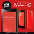 [Export Set] Xiaomi HongMi RedMi 1S 3G 4.7 Inch IPS HD | Quad Core 1GB Ram and 8GB Storage | Dual Sim | Camera 8.0MP| 6mths Warranty
