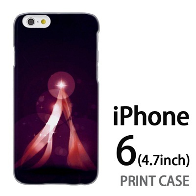 iPhone6 (4.7インチ) 用『1222 ネオンテント 紫』特殊印刷ケース【 iphone6 iphone アイフォン アイフォン6 au docomo softbank Apple ケース プリント カバー スマホケース スマホカバー 】の画像