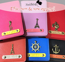 SCHOOL HOLIDAYS ✈ Customized Gift Ideas / Personalized Passport Covers Leather ✈ Travel Organizers